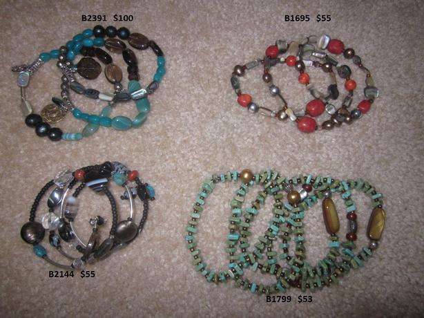 .925 Sterling Silver Silpada jewellery - More Bracelets