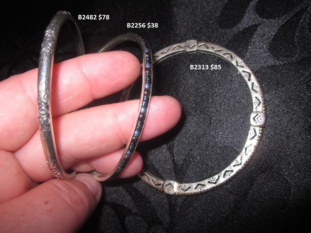 .925 Sterling Silver Silpada jewellery - Bracelets