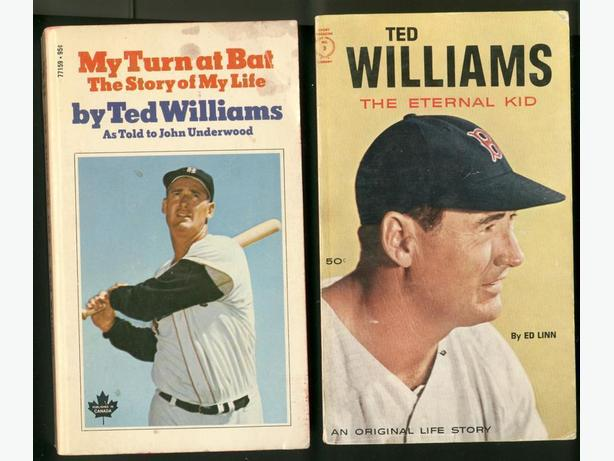 Ted Williams Roger Clemens Books Boston Red Sox by