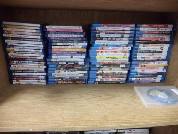 Over 80 Blue Rays