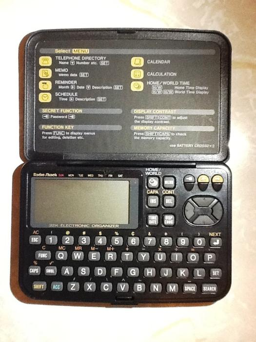 Vintage Micronta Casio Ec 357 32k Electronic Organizer