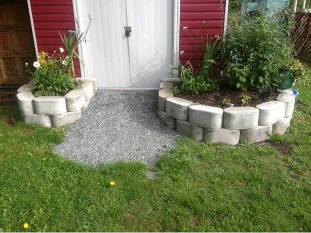 Concrete Garden Box