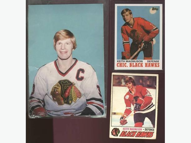 Keith Magnuson Lot Chicago Blackhawks