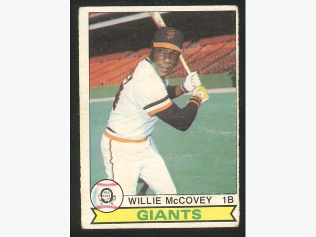 1979 O-Pee-Chee #107 Willie McCovey San Francisco Giants