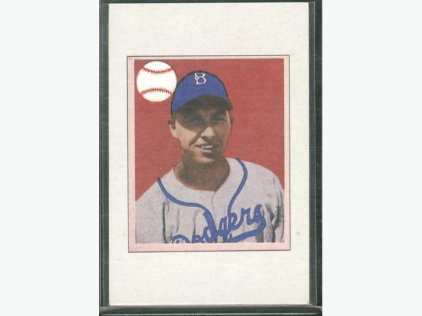 1949 Bowman Reprint Gil Hodges Brooklyn Dodgers