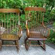 Some Refinished Antique Rocking Chairs / Nursing Rockers