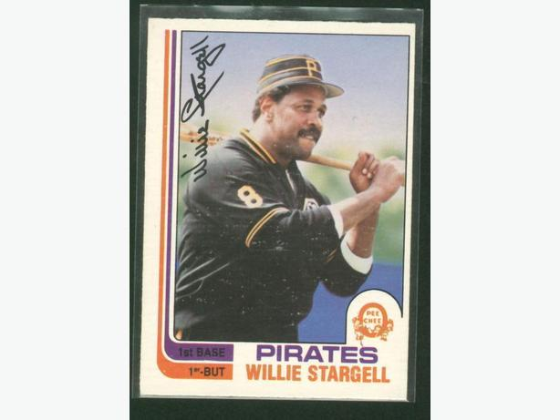 1982 O-Pee-Chee #372 Willie Stargell Pirates