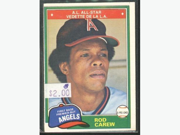 1981 O-Pee-Chee #100 Rod Carew California Angels
