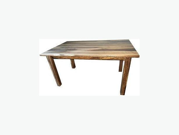 New Live Edge Black Walnut Rustic Dining Table