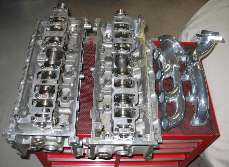 Ford 4 6l Mustang Cylinder Heads Ported Amp Polished