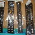 Brand New Spike Rocker Band Leather Bracelet