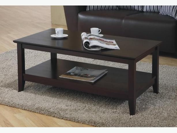 New Quadra Coffee Table Solid Hardwood