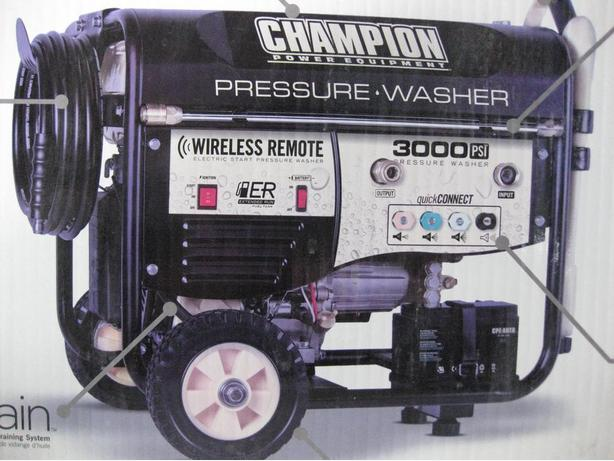 NEW 3000 PSI 2.5 CHAMPION PRESSURE WASHER