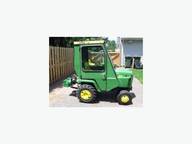 John Deere Lawn Tractor Enclosures : Wanted cab or enclosure for john deere lawn tractor