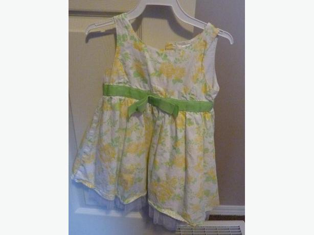 Green & Yellow Dress - Size 2