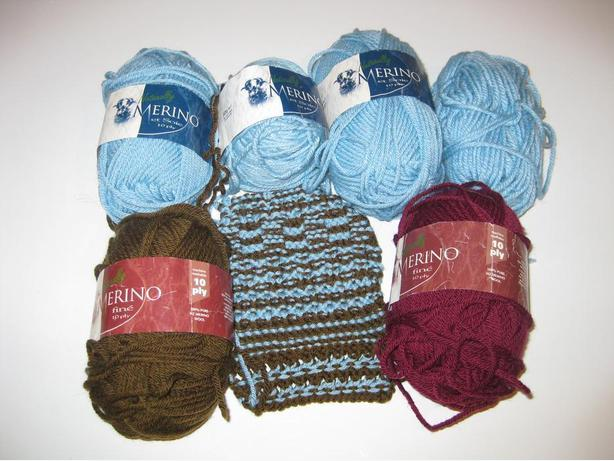 Naturally Merino and Silk scarf kit from New Zealand 5 balls