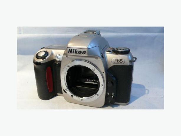 Nikon F65 film camera body (Like new condition)