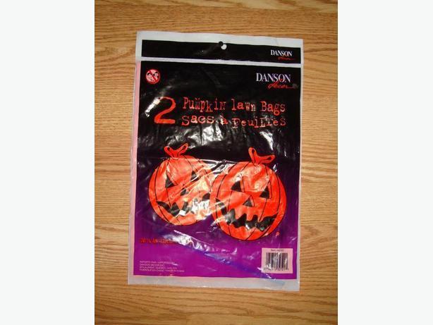 New Set of Large Pumpkin Bags - $1