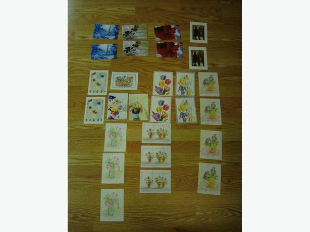 New Set of Assorted Greeting Cards - Excellent Condition! All for $2