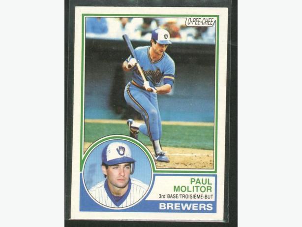 1983 O-Pee-Chee #371 Paul Molitor