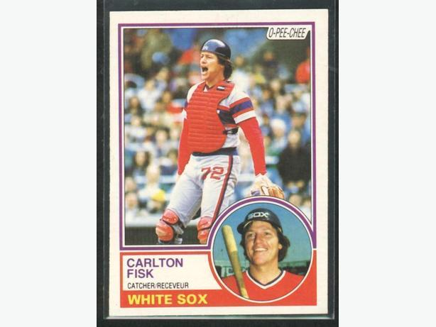 1983 O-Pee-Chee #20 Carlton Fisk