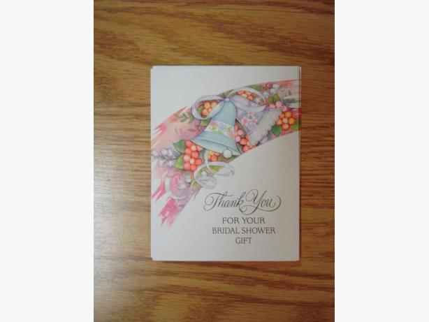 7 New Bridal Shower Greeting Cards - Excellent Condition - $0.50 for all!