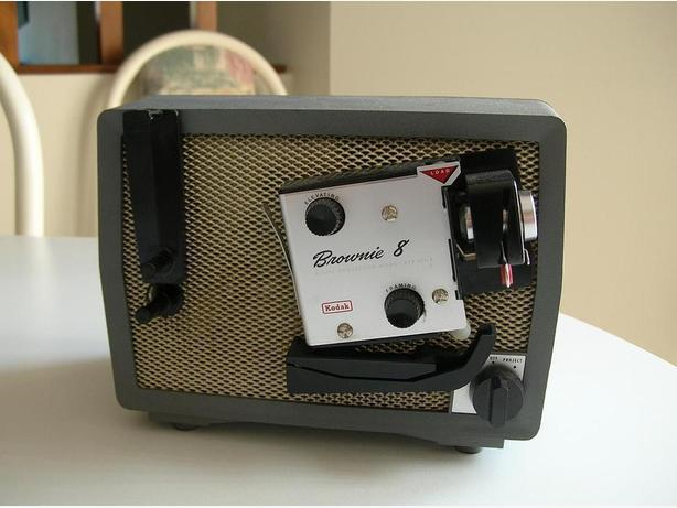 Kodak Brownie 8 MM Projector model A/15