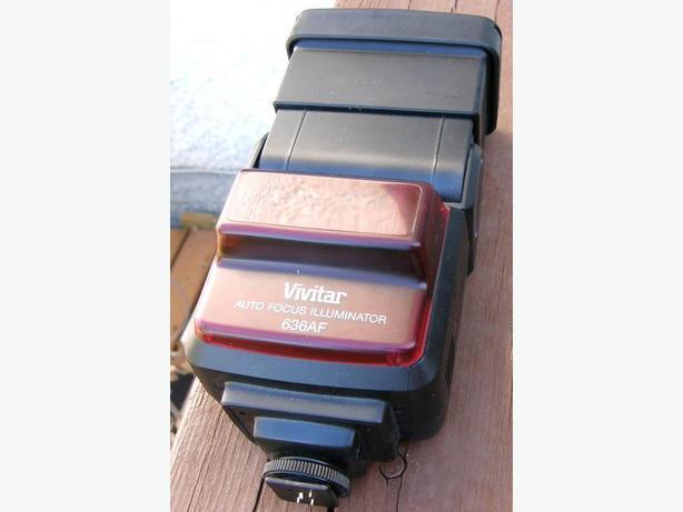 Minolta or Sony Mount Vivitar Auto Focus Illuminator 636AF Flash Unit VGC