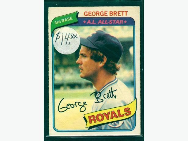 1980 O-Pee-Chee #235 George Brett Kansas City Royals