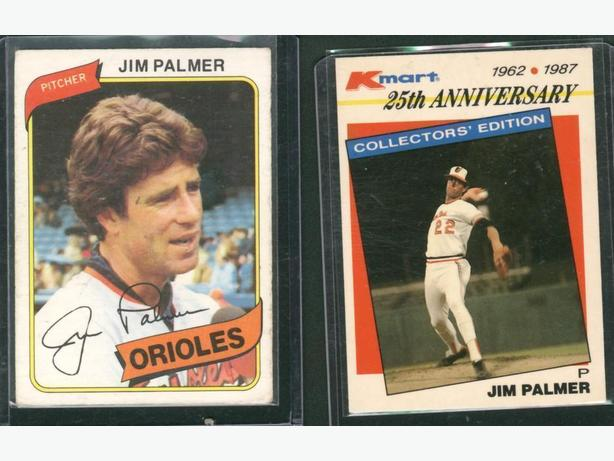 Jim Palmer Lot Baltimore Orioles
