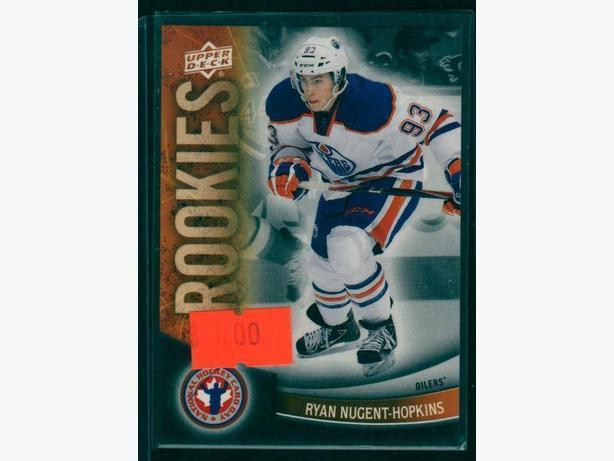 Ryan Nugent-Hopkins Rookie Card Edmonton Oilers