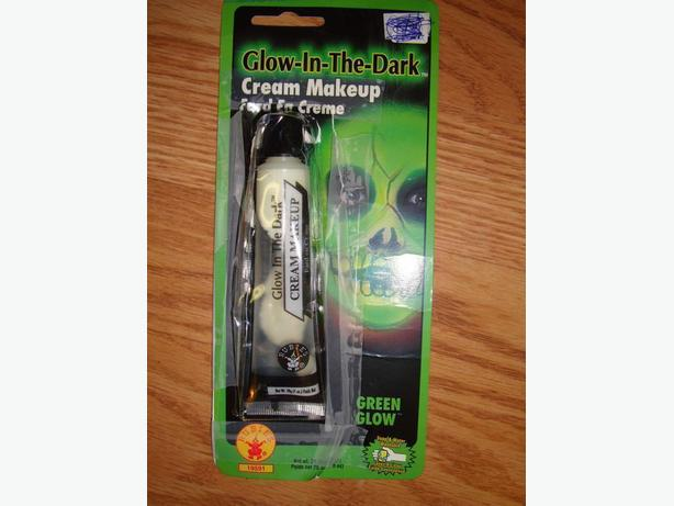 Glow in the Dark Halloween Makeup - $1