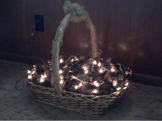 Decorative Christmas Basket