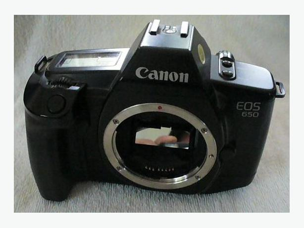 Canon EOS 650 Film Camera