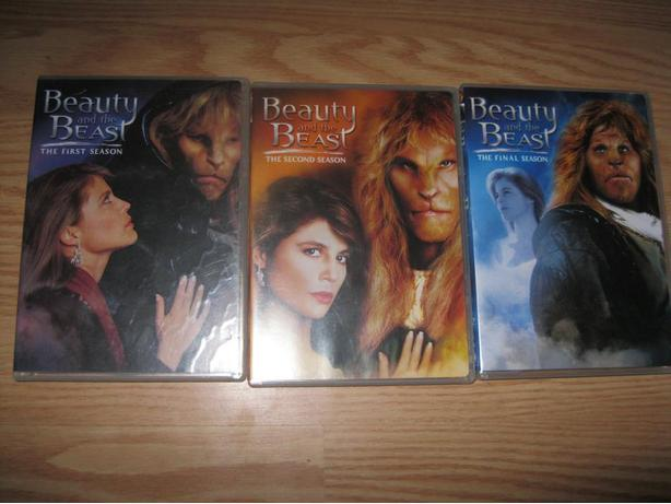 BEAUTY & THE BEAST DVD Series (All for ONLY $25!!)