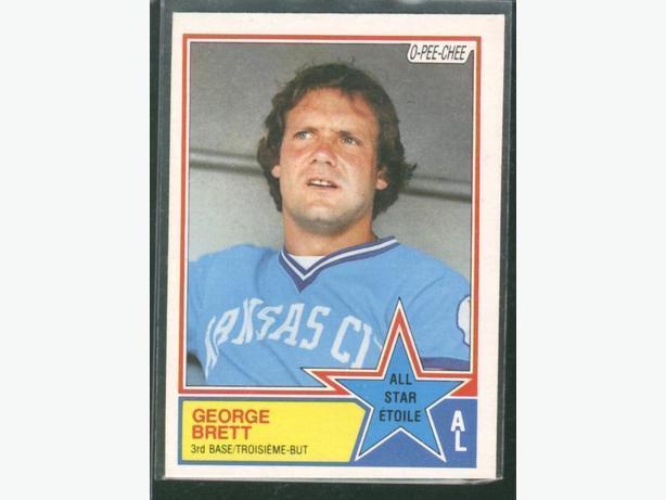 1983 O-Pee-Chee #388 George Brett All Star Card Kansas City Royals
