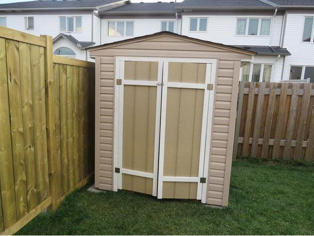 Grandpa's custom sheds