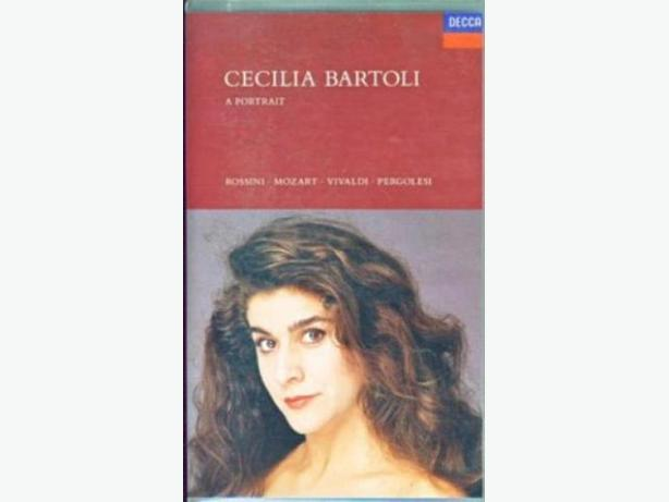 UNOPENED IN PACKAGE  -   CECILIA  BARTOLI  -  A PORTRAIT