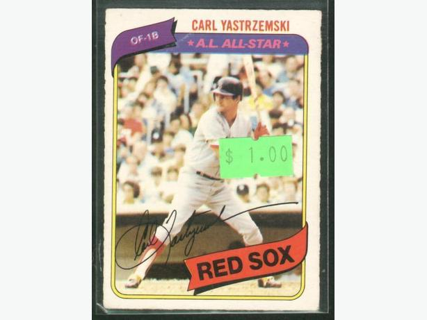 1980 O-Pee-Chee #365 Carl Yastrzemski Boston Red Sox