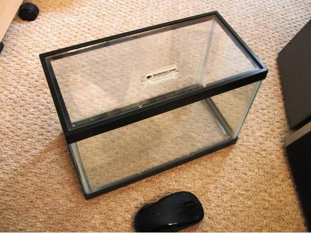 New Marineland 2 Gal Glass Aquarium