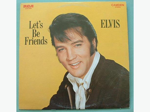 Elvis Presley 3 Vinyl LP Lot Let's Be Friends Frankie & Johnnie