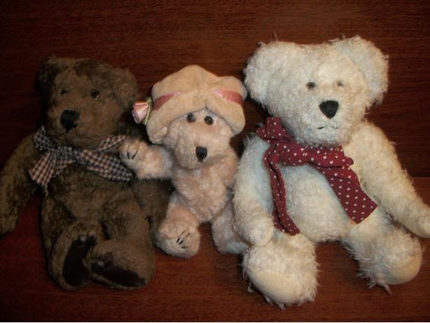 Three Boyd's Bears
