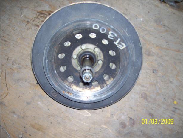 Yamaha ET300 ET250 secondary clutch driven clutch jackshaft  Enticer 250 300