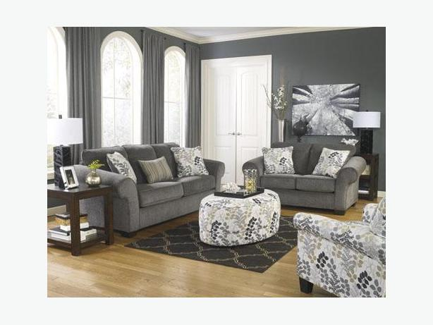 New Makonnen Charcoal Sofa Collection