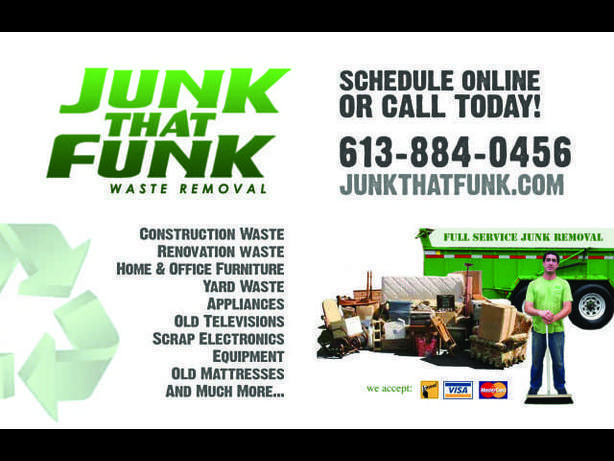 Junk That Funk - Ottawa Junk Removal!613 699 6636