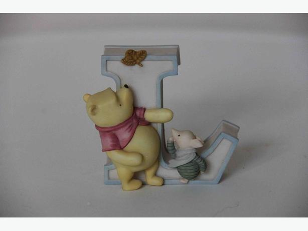 "Winnie-the-Pooh ""L"" Figurine by Michel & Company"