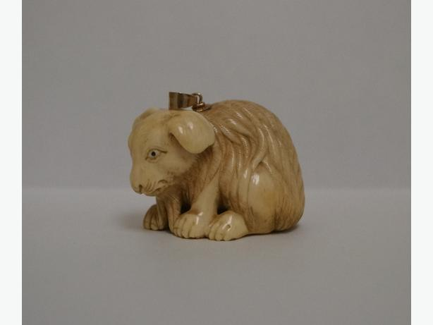 Carved Netsuke - Rabbit.