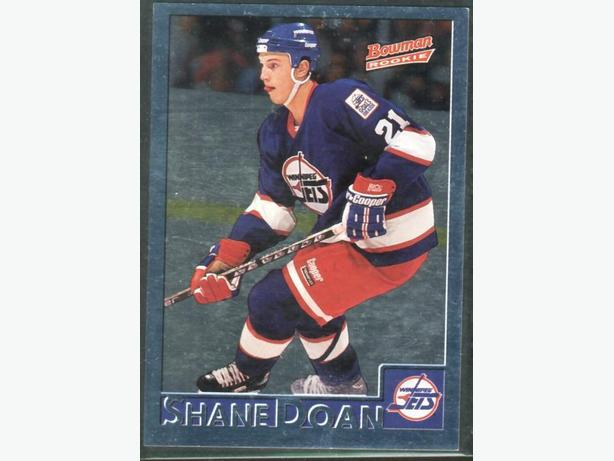 Three Shane Doan Cards Rookie Card Winnipeg Jets