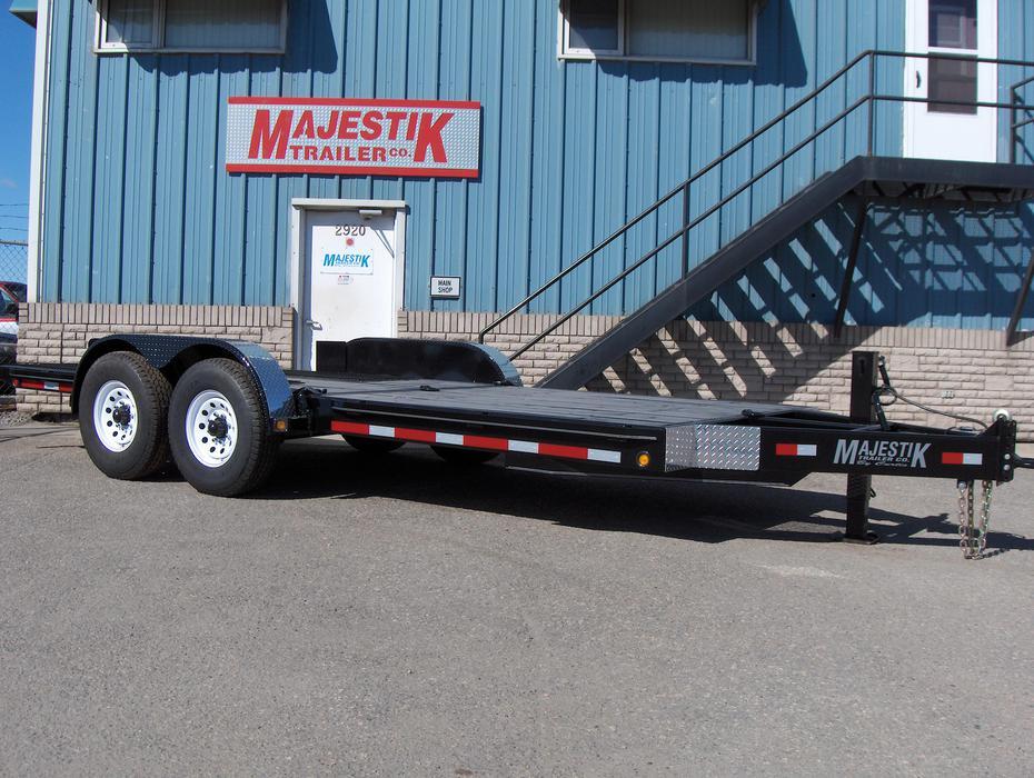 Bobcat Trailer Fenders : Clear out l majestik bobcat trailer ft rural
