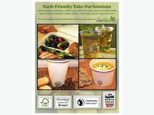 Take-Out Eco-friendly Food & Beverage Containers/Wholesale Prices